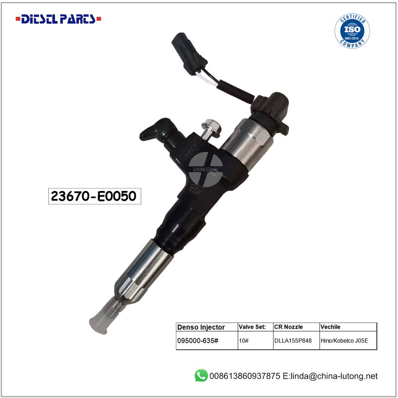 hino injector replacement 23670-E0050 denso diesel fuel injectors
