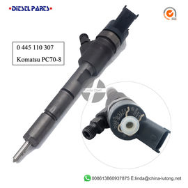 China Komatsu Diesel Injector 0 445 110 307 diesel fuel injection system common rail bosch factory