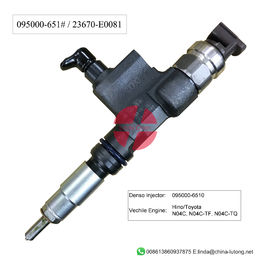 China denso injectors diesel for hino truck injector 095000-6510 factory