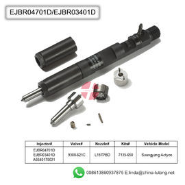 China injector delphi common rail EJBR04701D diesel truck fuel injectors factory
