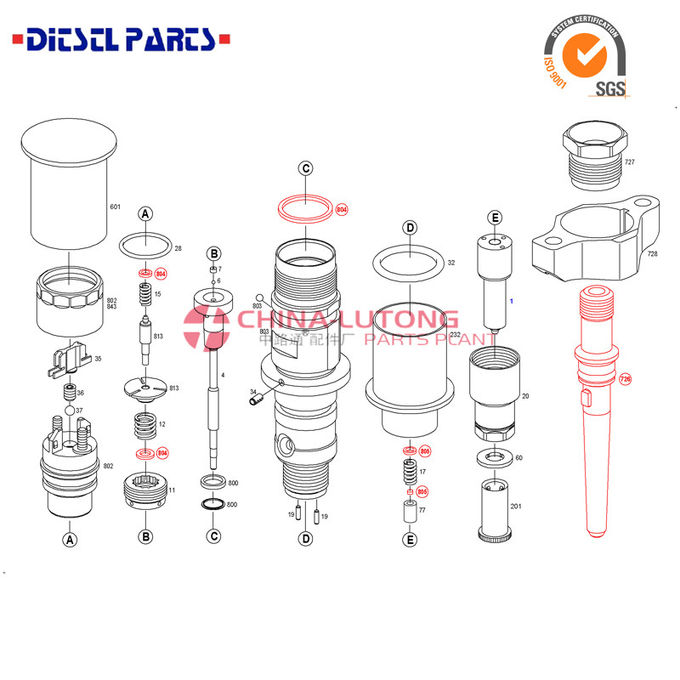 Diesel injection system pdf 0 445 120 309 Dongfeng DCI11_EDC7 Cummins Engine bosch common rail diesel pump